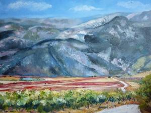 Road to Granada- oils